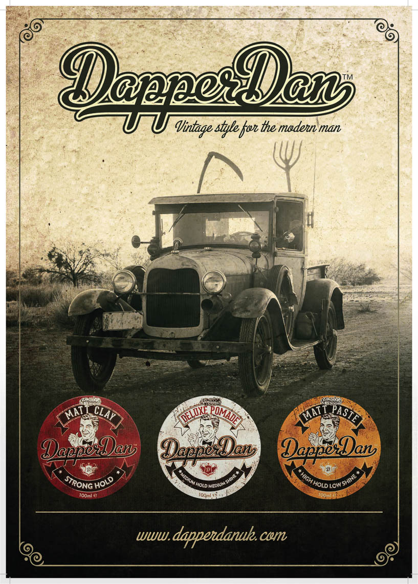 DapperDanNewproductpostersA3Car
